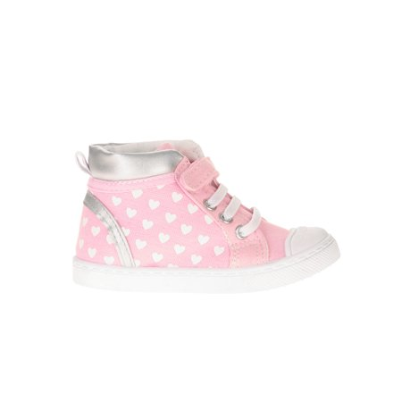 Skidders Baby Girls' Multi Closure High Top Casual - Vans For Toddler Girls