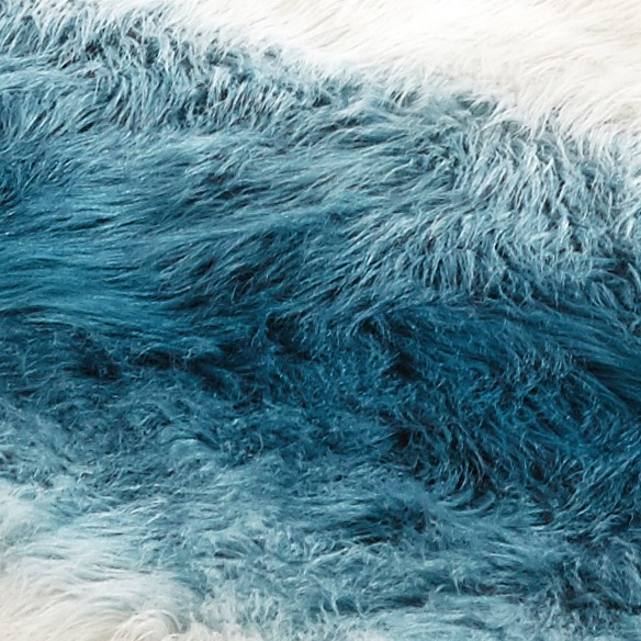 Mainstays Ombre Faux Fur Shag Rug, Multiple Colors and Sizes