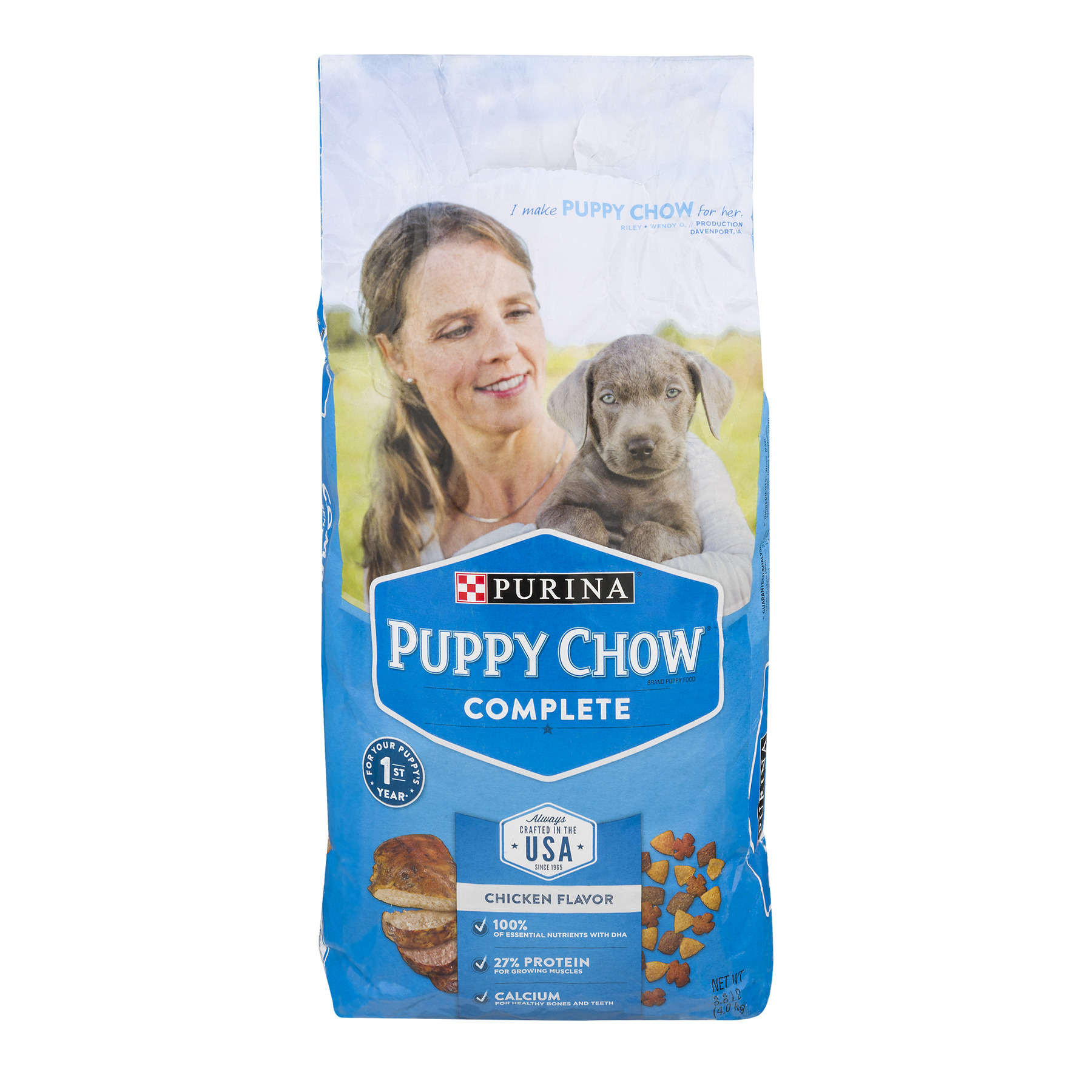 Purina Puppy Chow Chow Complete Puppy Dry Dog Food, 8 Lb