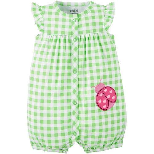 Child of Mine made by Carter's Newborn Baby Girl Romper