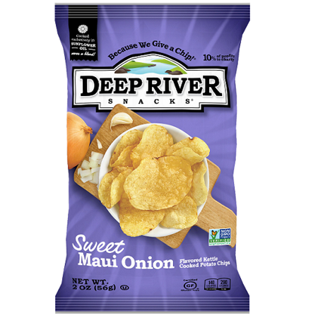 Sweet Maui Onion Kettle Chips 2oz 24 Ct Walmart Com