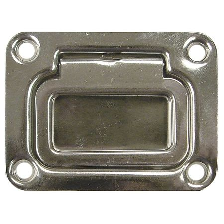 Polished Zinc MONROE PMP PH-0250 Pull Handle Through Holes Steel Unth