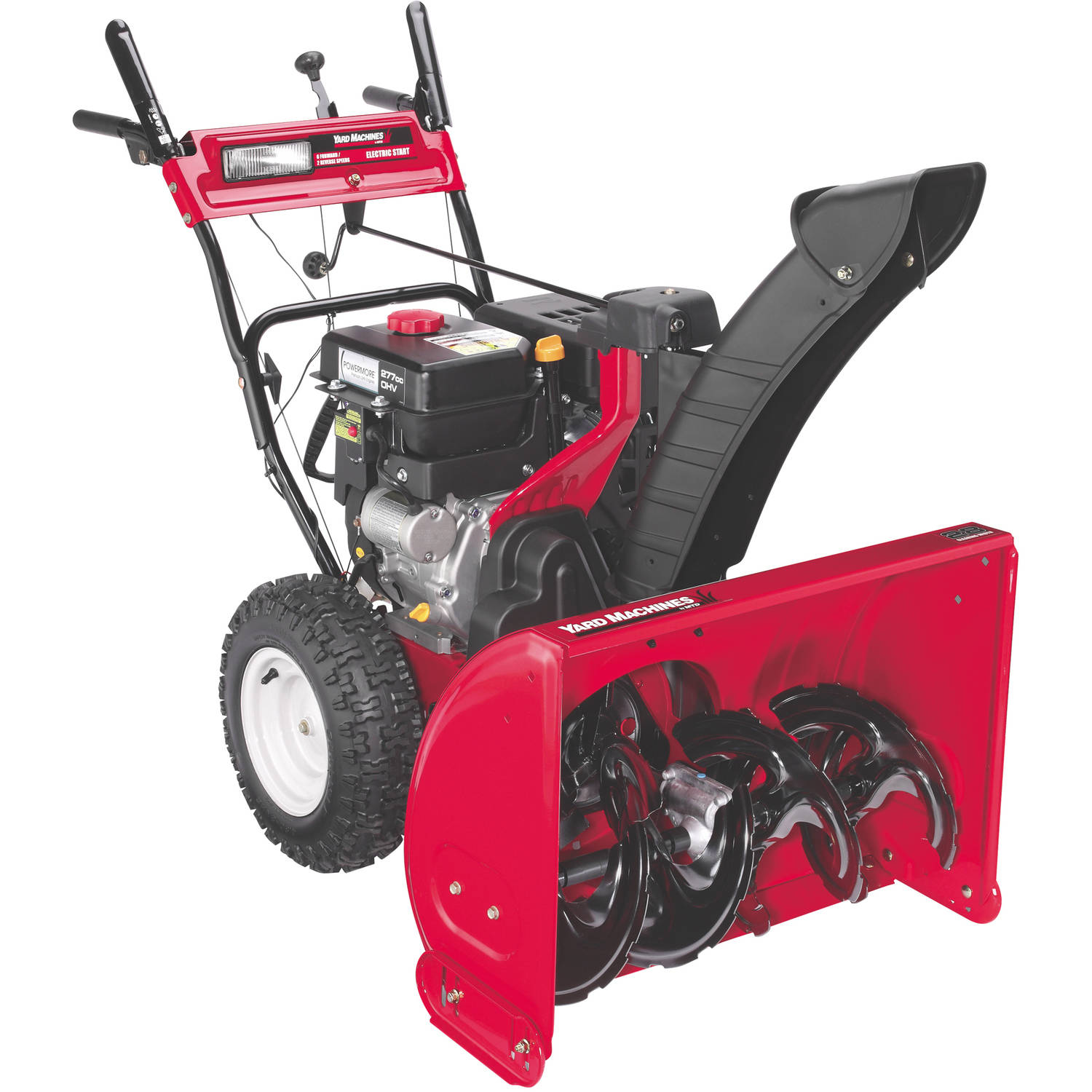 "Yard Machines 28"" 277cc Two-Stage Snow Blower by MTD Products"