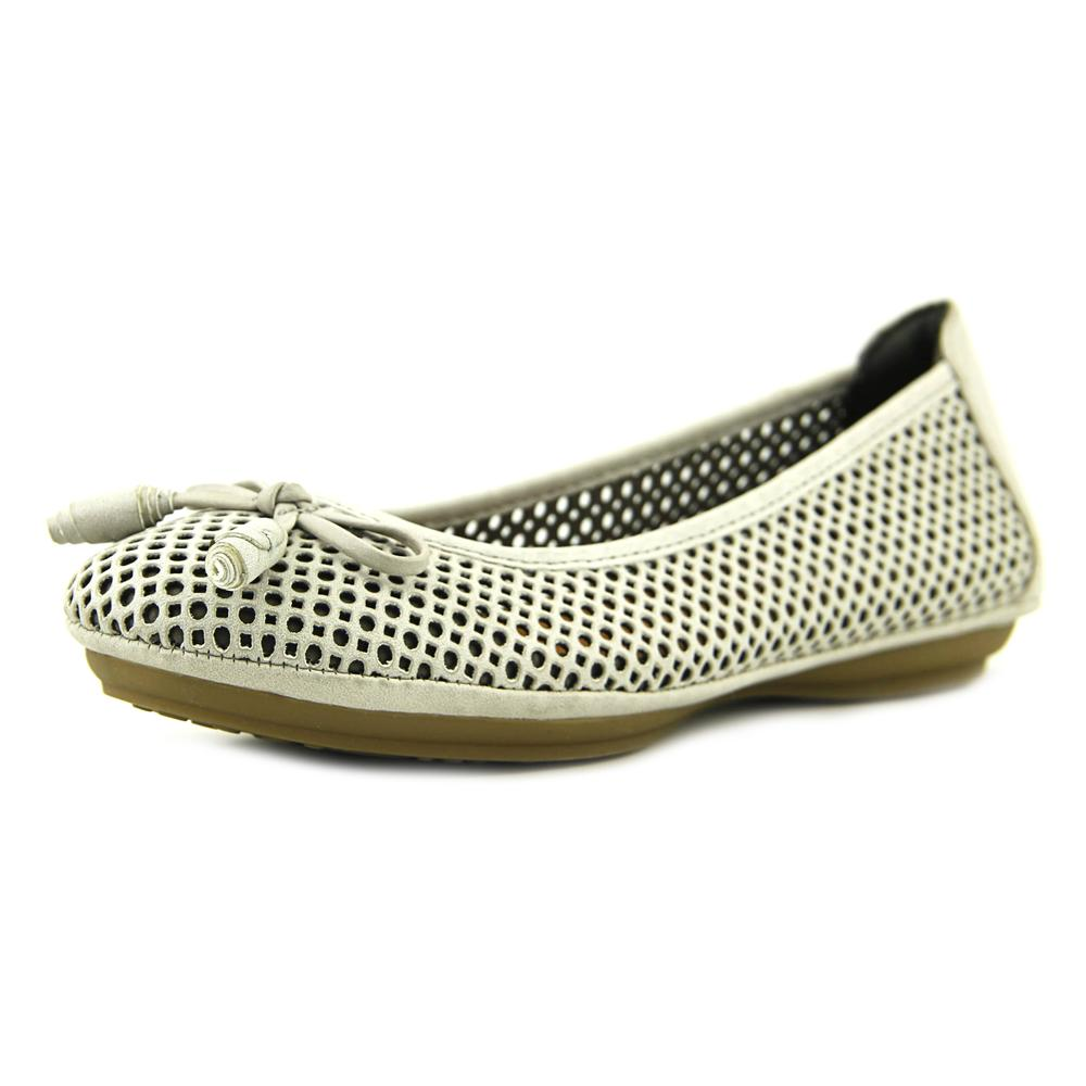 Click here to buy Eurosoft by Sofft Sarno Women Round Toe Leather Gray Ballet Flats by Eurosoft by Sofft.