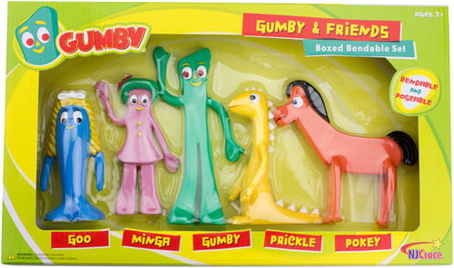 GUMBY AND FRIENDS BENDABLE BOXED SET - Walmart.com ...