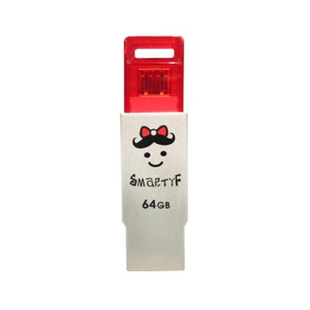 TCELL Technologies USB2. 0 SmartyF 64 GB Red