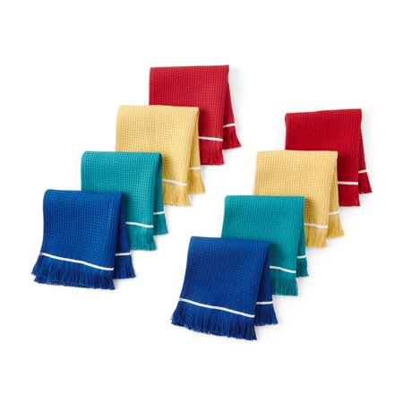 The Pioneer Woman Fringe Dish Cloths, Multi, Set of 8, Multiple