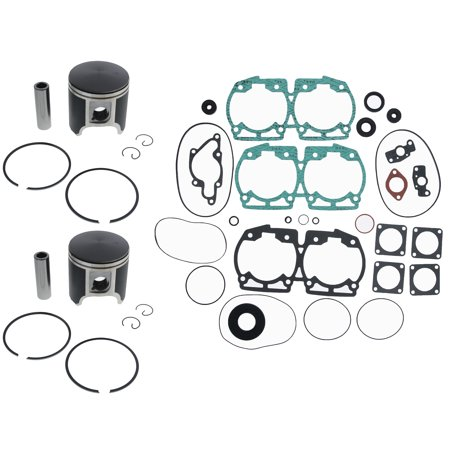 1996 1997 Ski-Doo Formula MXZ 670cc Piston and Gasket Kit