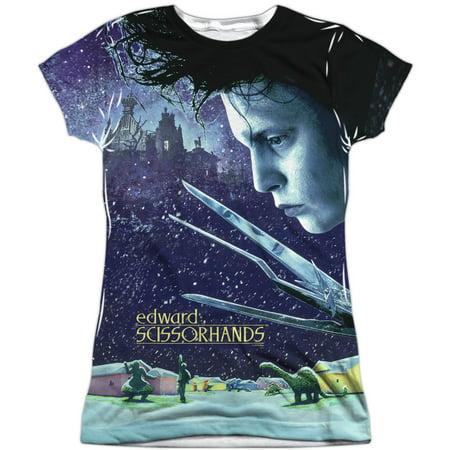 Girl Edward Scissorhands (Edward Scissorhands  Home Poster Girls Jr Sublimation)