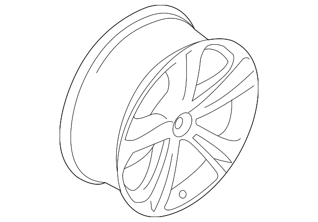 Genuine Oe Bmw Wheel Alloy 36 11 7 845 882