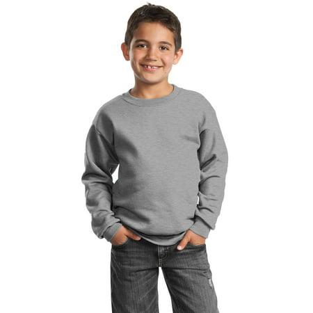 Port & Company - Youth Core Fleece Crewneck Sweatshirt 50 Youth Crewneck Sweatshirt