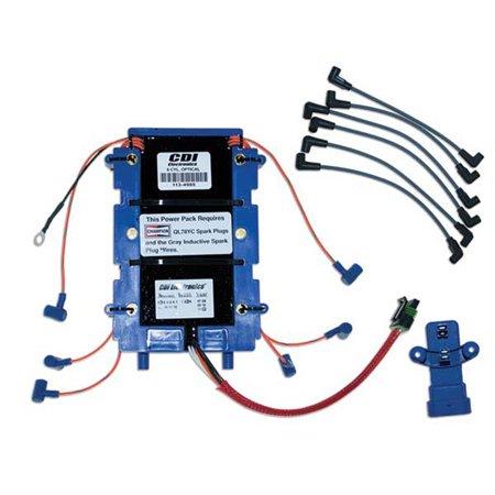 Powercenter Kit - CDI Electronics 113-6367K 1 Johnson/Evinrude Power Pack Kit - 6 Cyl (1991-2006)