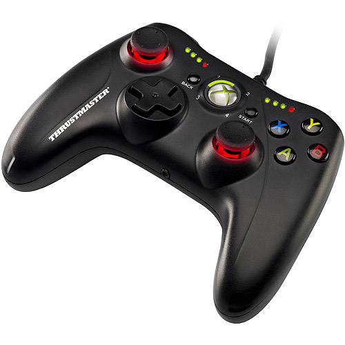 Thrustmaster GPX LightBack Black Edition for Xbox 360 and PC