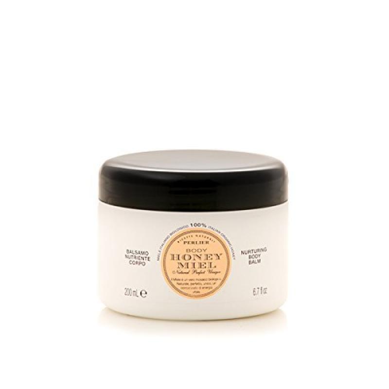 Perlier Body Honey Miel Nuturing Body Balm 6.7 Oz Jar