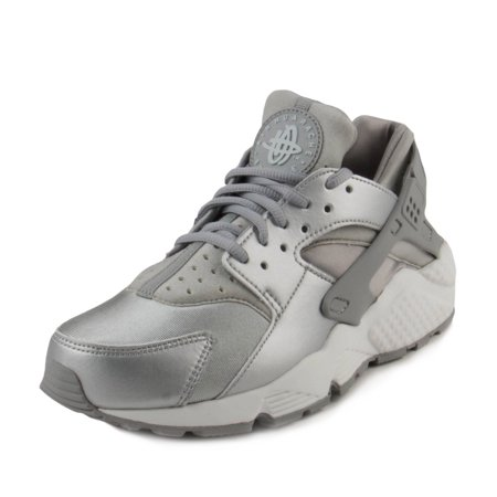 Nike Womens W Air Huarache Run SE Metallic Silver 859429-002