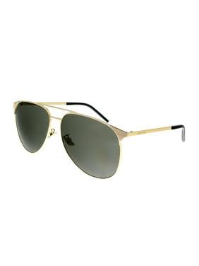 Saint Laurent SL 279 005 Gold Aviator  Sunglasses