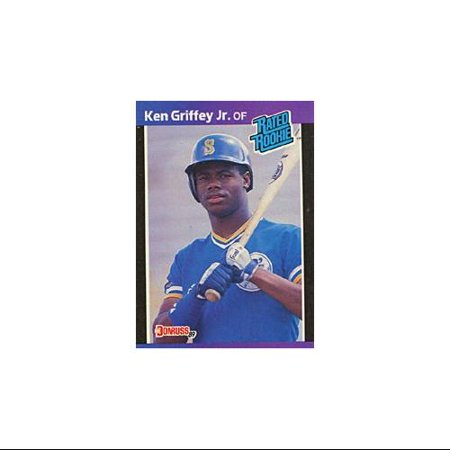 Ken Griffey Jr Rookie 1989 Donruss No33 Baseball Card