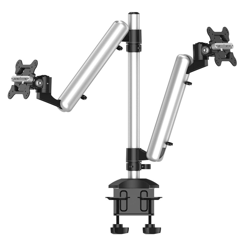 Cotytech Dual Monitor Desk Mount for Apple Height Adjustable w/ Quick Release