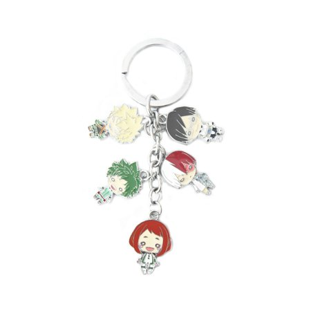 My Hero Academia Keychain Key Ring Anime Manga TV Show Auto/Boat House Keys - Funny Mother Daughter Halloween Costumes