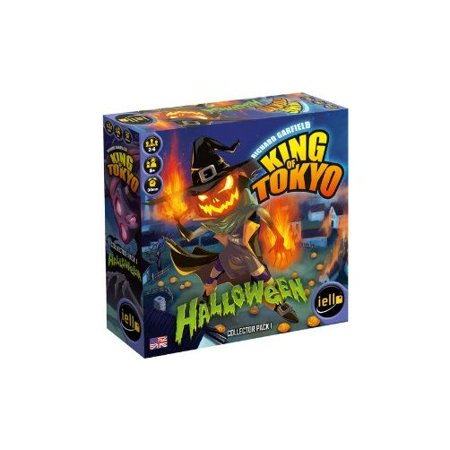 King of Tokyo Halloween Expansion Board Game Multi-Colored (Halloween Games For Outside)
