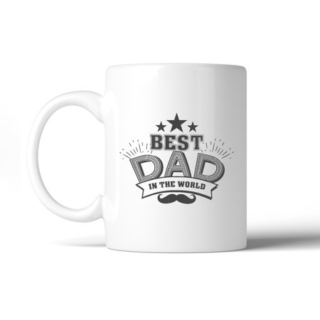 Best Dad In The World Fathers Day Mug Cup Dishwasher Microwave