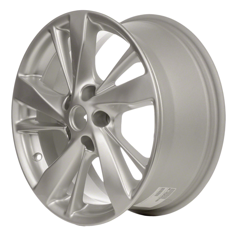 2013-2015 Nissan Altima  17x7.5 Alloy Wheel Sparkle Silver Metallic Full Face Painted-62593
