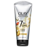 Olay Total Effects Refreshing Citrus Scrub Face Cleanser, 5.0 fl oz