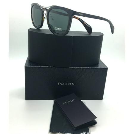 8ee5439f498ae Prada - Prada New Authentic Brown Tortoise Unisex Sunglasses SPR 17Q 2AU  3O1 3N 55 21 145 - Walmart.com