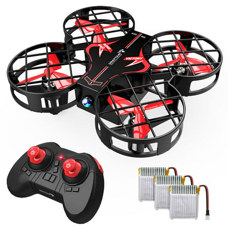 SNAPTAIN H823H Plus Portable Mini Drone for Kids, Pocket RC Quadcopter With 3 Batteries, 21 Mins Flight Time, One Key Take Off
