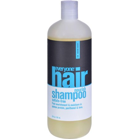 Eo Products Shampoo - Sulfate Free - Everyone Hair - Nourish - 20 Fl Oz Eo Coconut Shampoo