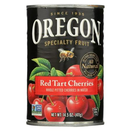 Oregon Fruit Red Tart Cherries In Water - 14.5 oz.