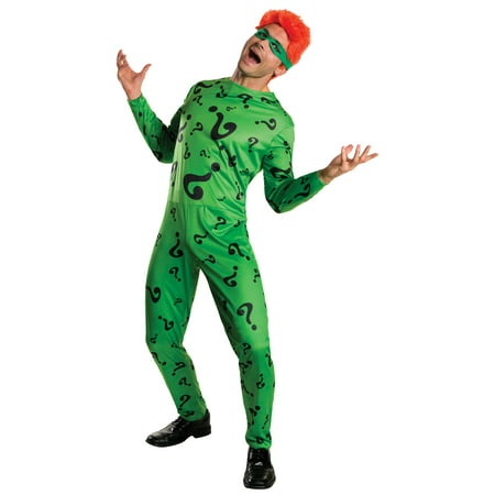 Men's The Riddler Costume - Riddler Womens Costume
