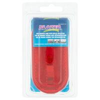Blazer International Oblong Red Clearance Side Marker, BW484W1R