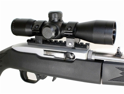 Ruger 10 22 Combo Kit With 4x32 Rifle Scope + Rings + Rail Mount, RUGER 1022 accessories. by Trinity