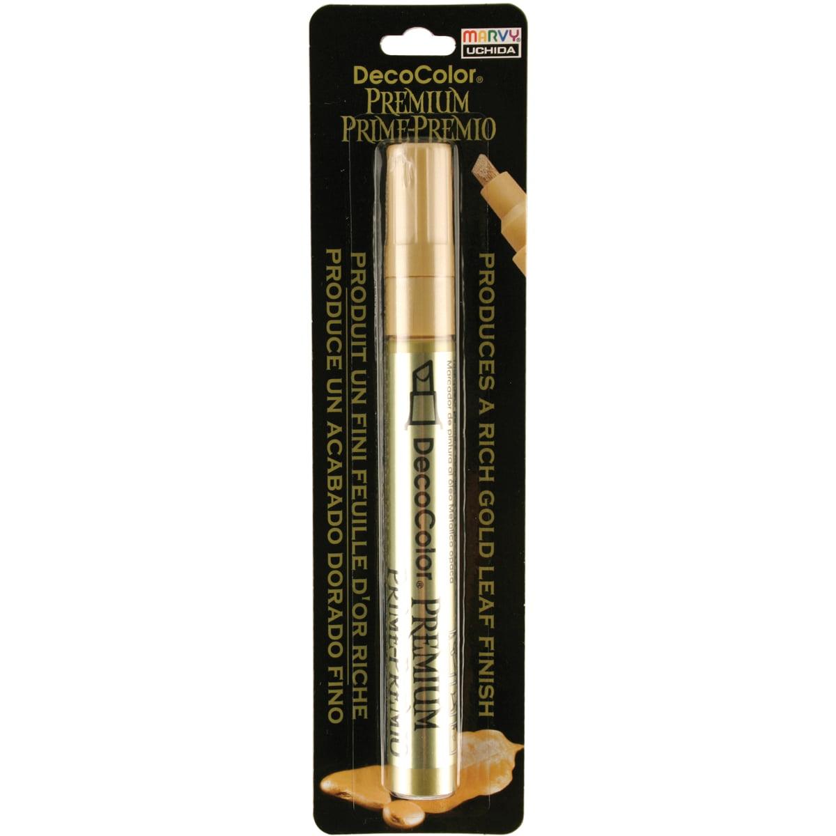 Marvy Uchida DecoColor Premium Gold Chisel Paint Marker, 1 Each