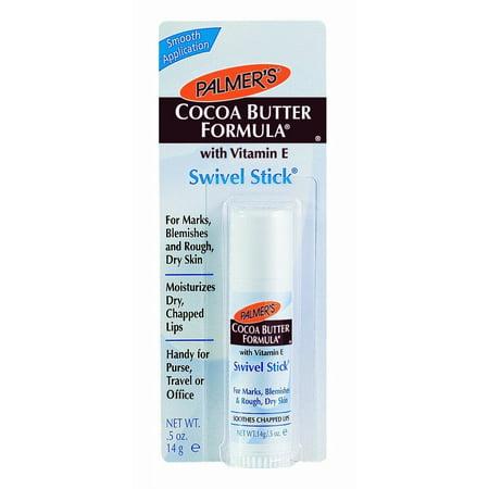 Palmers Cocoa Butter Stick - 4 Pk Palmers Cocoa Butter Formula Swivel Stick w/Vitamin E Moisturizes .5oz Each