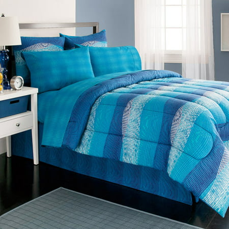Royale Home Illusions Reversible Bed In A Bag Walmart Com