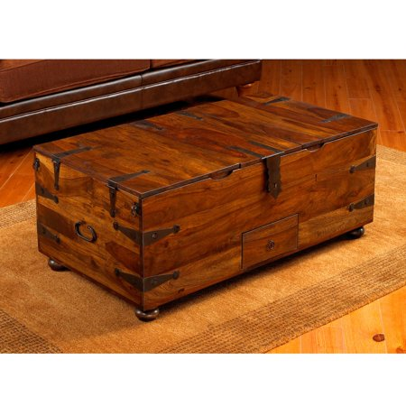 Rosewood Walnut - William Sheppee Thakat Trunk Coffee Table