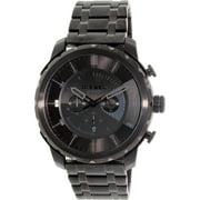 Diesel Men's Stronghold DZ4349 Black Stainless-Steel Analog Quartz Dress Watch