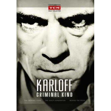 Karloff: Criminal Collection (DVD)](Boris Karloff Halloween)