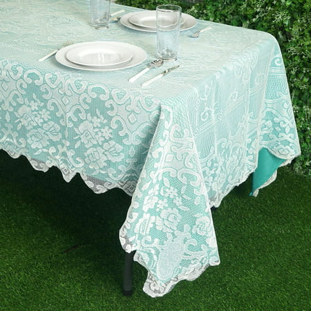 Balsacircle 60 Inch X 108 Inch Rectangular Tablecloth With