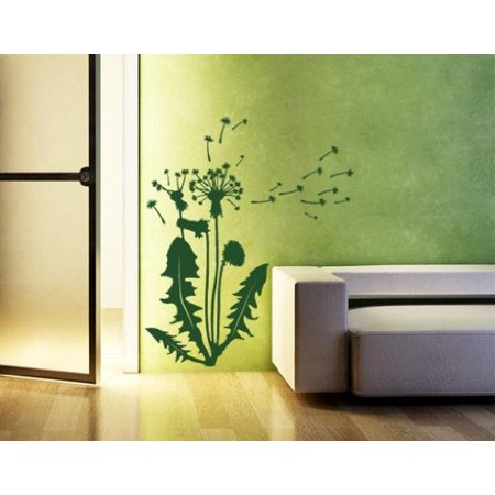 Flying Dandelion Seeds Wall Decal - Wall Sticker, Vinyl Wall Art ...