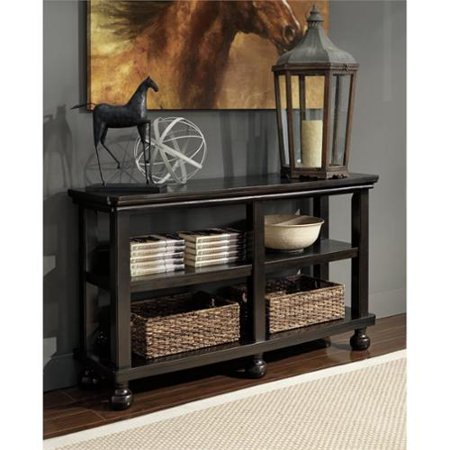 Tellbane Coffee Table.Ashley Tellbane Sofa Table In Black Walmart Com