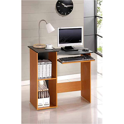 Furinno 99914R1LC/BK Econ Multipurpose Computer Writing Desk