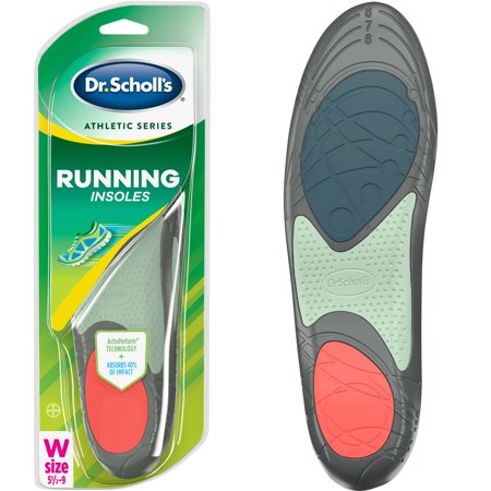 Dr. Scholl's Athletic Series Running Insoles for Women, 1 Pair, Size