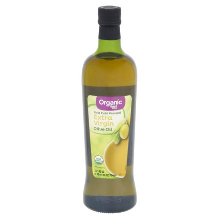 Great Value Organic Extra Virgin Olive Oil 25.5 fl oz Decorative Olive Oil
