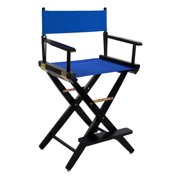 Extra-Wide Black Frame Premium Directors Chair