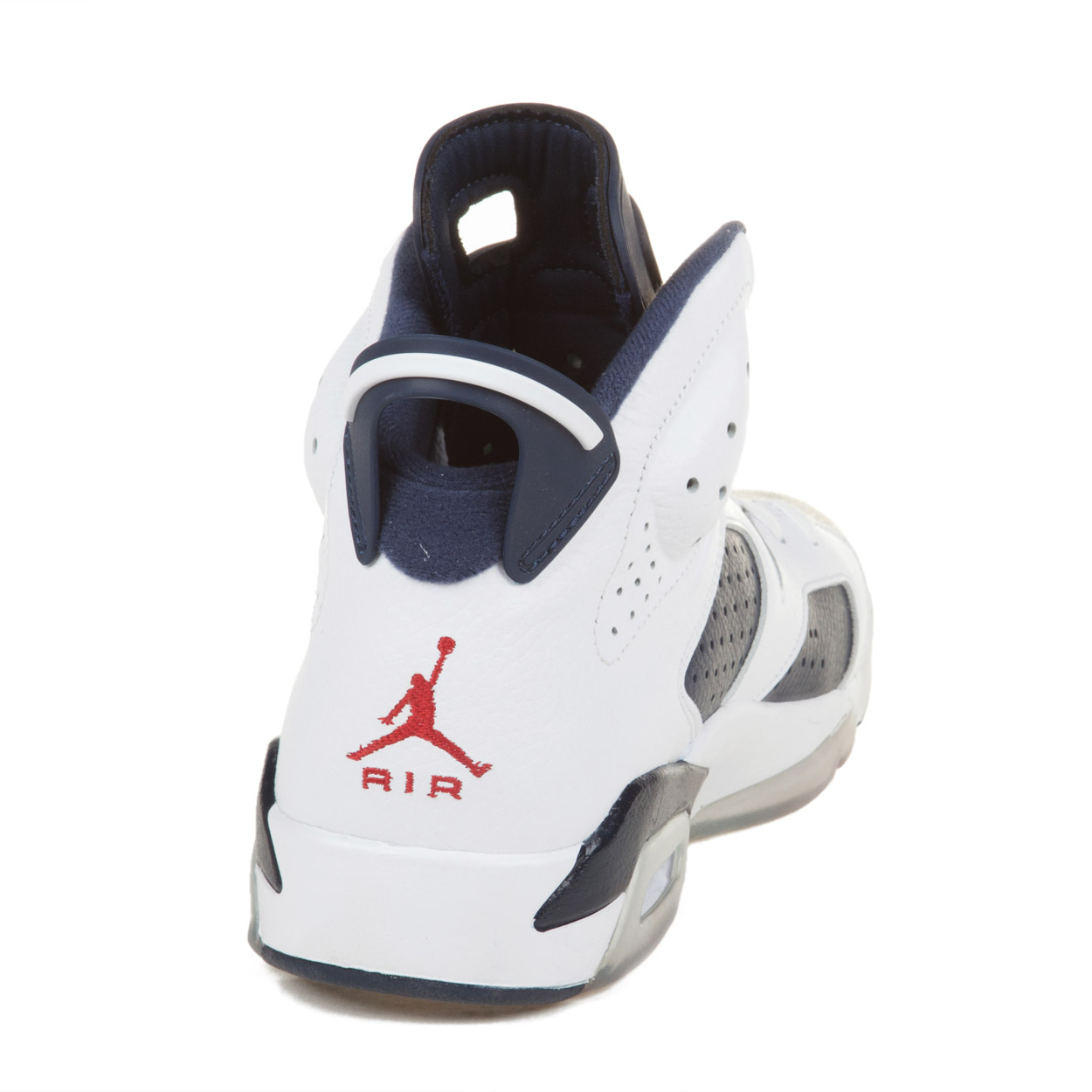 "Nike Mens Air Jordan 6 Retro ""Olympic"" ""Olympic"" ""Olympic"" White/Navy-Varsity Red 384664-130 64ad08"