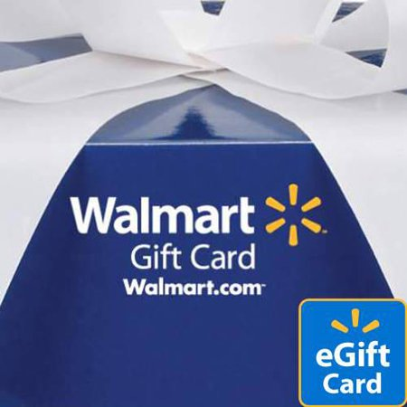 X65x Card - Blue Box Walmart eGift Card