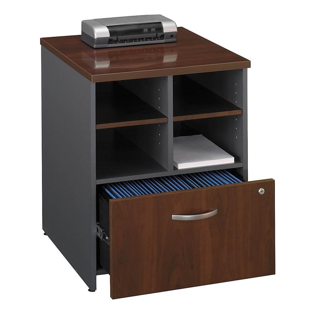 24 in. Storage Cabinet in Hansen Cherry finish (Warm Oak)